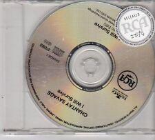 (EX310) Chantay Savage, I Will Survive - 1996 DJ CD