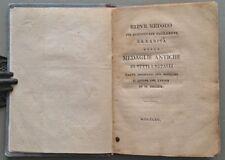 Numismatica - Medaglie antiche. SCOTTI VINCENZO. Anno 1803. RARO.