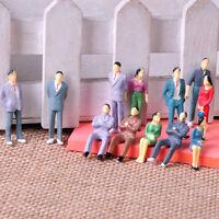 100 Stk Handbemalt Stehende Sitzende Figuren Sitzende Modell Stehende Figuren
