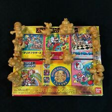Bandai Super Mario Graffiti FAMICOM NINTENDO Keshi Japan COMPLETE SET RARE