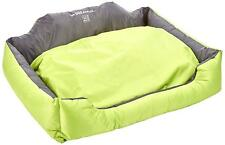 Oxford Pet Bed Dog Boslter Bed Green & Grey 39-inch M-Pets