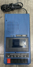 School Smart Slim-Line Portable Cassette Tape Recorder SS-1302 Tested & Working