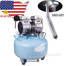 NEW  CE FDA Dental Medical Noiseless Silent Oilless Air Compressor Filter