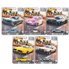 Hot Wheels Premium Boulevard G Case Complete Set 1-5