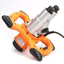 1600W 110V Stirrer Double Agitator Mortar Mixer Electric Concrete Cement 90L