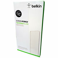 BELKIN SCREENFORCE TEMPERED GLASS SCREEN PROTECTOR FOR IPHONE 7 PLUS F8W769VF