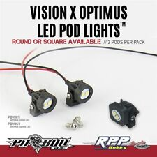 Pit Bull VISION X OPTIMUS LED Pod Lights, Round (2) PBTPBVOR1