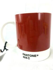 Pantone Coffee Mug Whitbread Wilkinson 10oz Color 484C Ox Blood