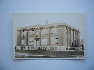 RPPC Postcard 1st Street Public School Welland Ontario Canada