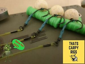 3 x Ronnie Rigs Weed Specification - Perfect for Weed Korda MASTERCLASS NEW 2021