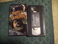 Anchor Bay HORROR VHS Army of Darkness 1992 CULT CLASSIC ASH EVIL DEAD  R