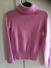 Gap Ladies Pink Polo Neck Jumper Size M