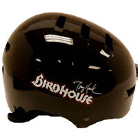 Birdhouse Tony Hawk Skateboarde Helmet w/ Adjustable Nylon Straps - Large