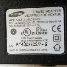 Samsung ATADS10JBE Home Travel Wall Charger