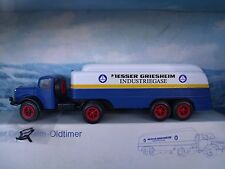 "1/43 Conrad (Germany) Mercedes Articulated Tanker ""Messer Griesheim Industriegas"