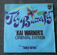Kai Warner's Oriental Express, fly butterfly / funky harem, SP - 45 tours france