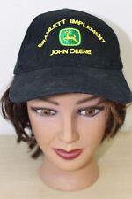 Bramlett Implement John Deere Stephenville Texas Black Baseball Trucker Cap Hat