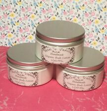 Handmade Organic Rose & Vanilla Scented Thick Creamy Body Lotion For Her - 100ml
