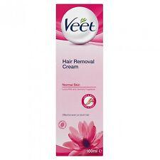 Veet Hair Removal Cream 100ml for Normal Skin X6