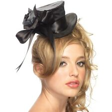 Mini Top Hat Womens Gothic Costume Halloween Fancy Dress
