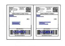 300 Self Adhesive 8.5 x 11 Shipping Labels for UPS USPS FEDEX PAYPAL FREE SHIP