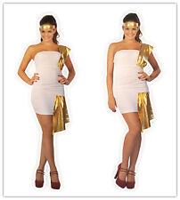 Womens Lingerie GREEK SPARTAN Godess Fancy Dress S M