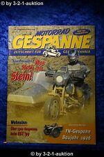 Motorrad Gespanne Nr.54 6/99 Harley BMW R 1100 RT FN Gespann