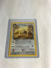 Pokémon Card Dark Persian #42/82 Team Rocket