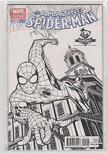 Amazing Spiderman Volume 3 #1 Newbury Comics sketch variant 9.6