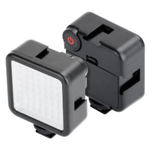 Portable 6000K 49 LED Phone Video Light for Photo Vlog Live Stream Camera Light