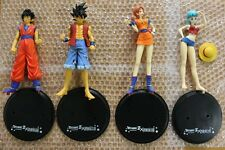 Banpresto DragonBall One Piece 40th Anniversary DX Figure Gokou Bulma Luffy Nami