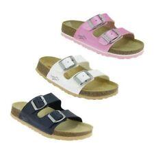 Chaussures blanches moyen en cuir pour fille de 2 à 16 ans