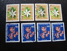 polinesia - francobollo yvert e tellier n° 128 129 x4 obliterati (A20) stamp