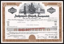 1982 Missouri: Anheuser-Busch, Incorporated, $100,000 Bond - Beer & Brewery