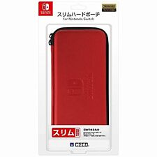 Hori JAPAN Official Licensed Slim Hard Pouch Case for Nintendo Switch Red