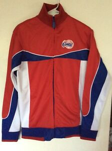 Los Angeles Clippers - Track Jacket (Small) - Red/White/Blue - Unk Blue Label