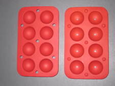 3x Silicone Cake Pop Moulds Mold Trays Chocolates Party and Free Sticks