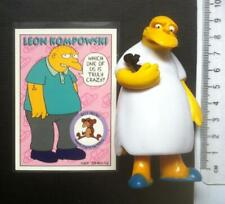 Michael Jackson figure Leon Kompowsky the Simpsons ULTRA RARE complete with card