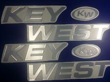 "KEY WEST Boats Emblem 40"" + FREE FAST delivery DHL express"