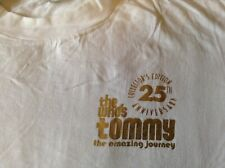 The Who T-Shirt Tommy 25th Anniversary - Pete Townshend Roger Daltrey
