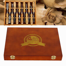 12 Pcs Wood Carving Kit Chisel Tool Art Woodworking Cutter Hand Tools Set