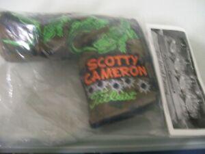 SCOTTY CAMERON 2012 PGA GATOR MAJOR KIAWAH NEW TITLEIST HEADCOVER PUTTER COVER
