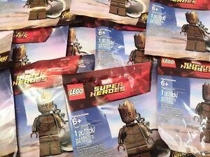 Lego Marvel x 10 bundle Teen Groot keychain keyring minifigure collectable