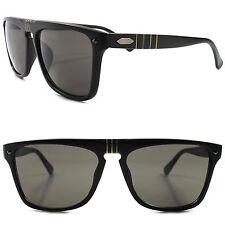 Flat Top Classic Vintage Retro Fashion Hip Matte Black Mens Hipster Sunglasses