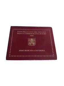 2 euro commémorative, BU Vatican 2008, 2000 ans naissance de Saint Paul