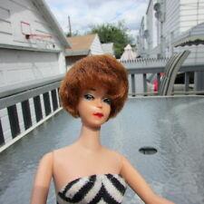 Vintage Barbie Doll Bubble Cut Titian Early 1st 1961 Lucy Lips Red Head