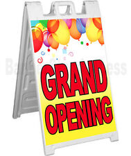 Signicade A-Frame Sign Sidewalk Sandwich Store Pavement Sign - Grand Opening yb