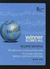 Winner Scores All Trumpet Eb/F Horn Baritone Euphonium Eb Bass Sheet Music Book