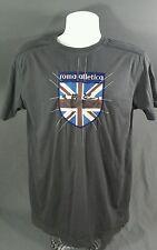 Vintage Roma Atletica England football club T shirt, (M) mens, soccer