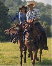 SCOTT EASTWOOD BRITT ROBERTSON SIGNED THE LONGEST RIDE 11X14 AUTOGRAPH HOT HUNK